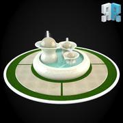 喷泉048 3d model