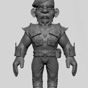 Gnome Jamie Hyneman myth busters 3d model
