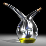 모주 기름과 식초 유리 크 루트 2 3d model