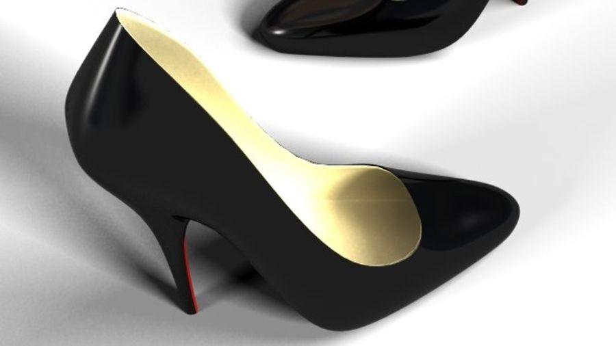 Tacones altos royalty-free modelo 3d - Preview no. 4