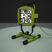 luz de trabalho 3d model