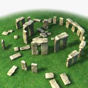Stonehenge 3d model