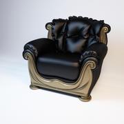 肘掛け椅子 3d model