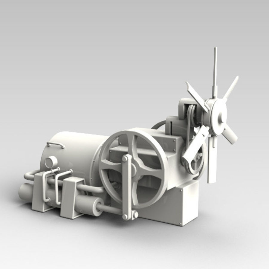 Motor royalty-free 3d model - Preview no. 2