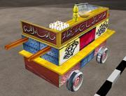 egipto comida local coche modelo 3d