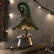 Vintage Christmas 3d model