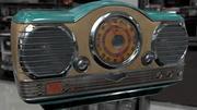 라디오 3d model