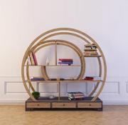 Boekenkast 30 3d model