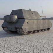 Маус Танк 3d model