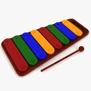 Ksilofon Müzik Oyuncak 3d model