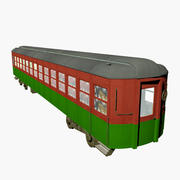 North Pole Express Wagon1 3d model