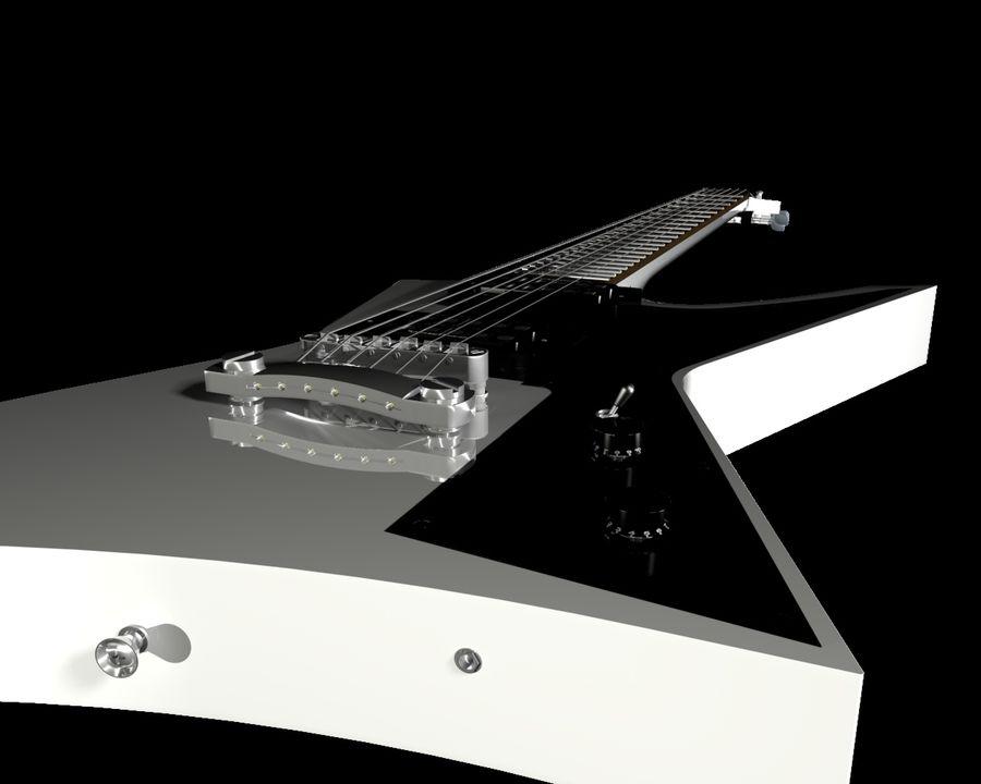 기타 royalty-free 3d model - Preview no. 3