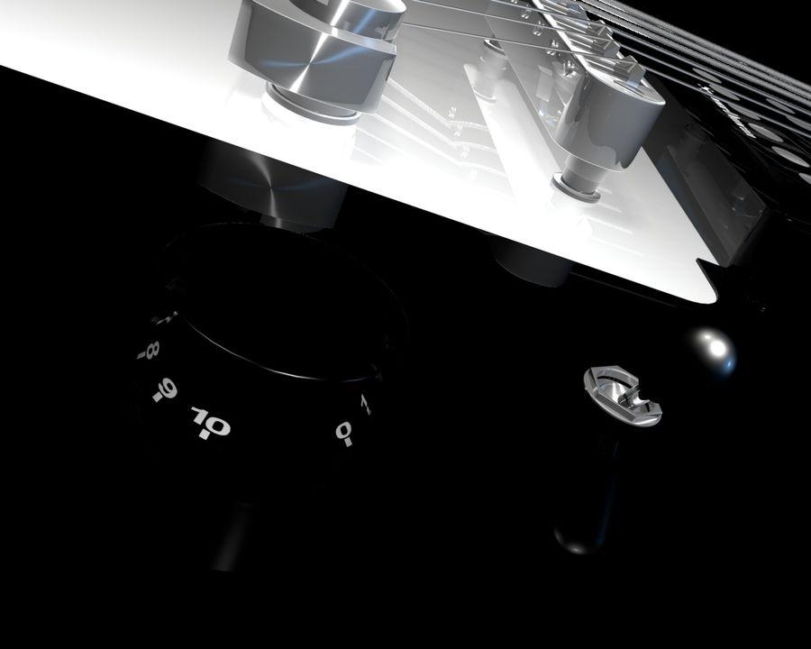 기타 royalty-free 3d model - Preview no. 7