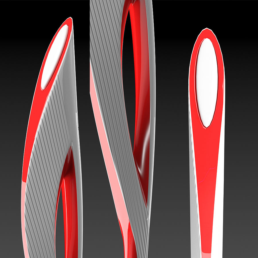 Olympic Torch royalty-free 3d model - Preview no. 2