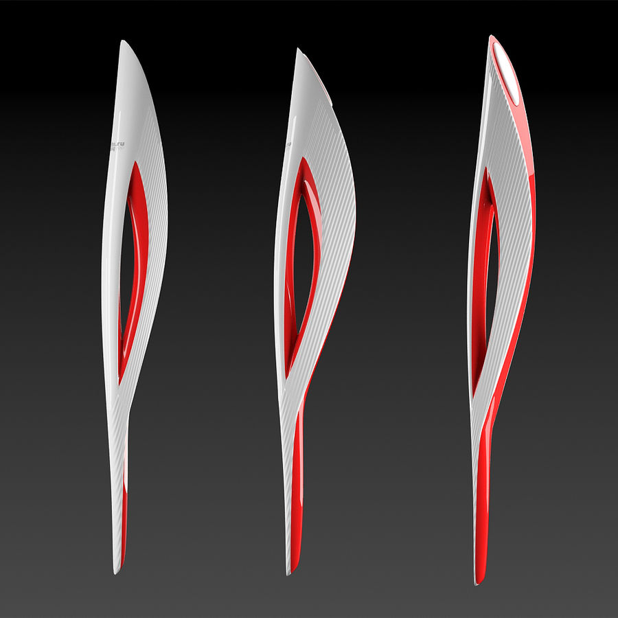 Olympic Torch royalty-free 3d model - Preview no. 1