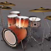 Drum Set Jalapeno 3d model