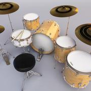 Drum Set Liberty 3d model