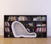 Bookcase 28 3d model