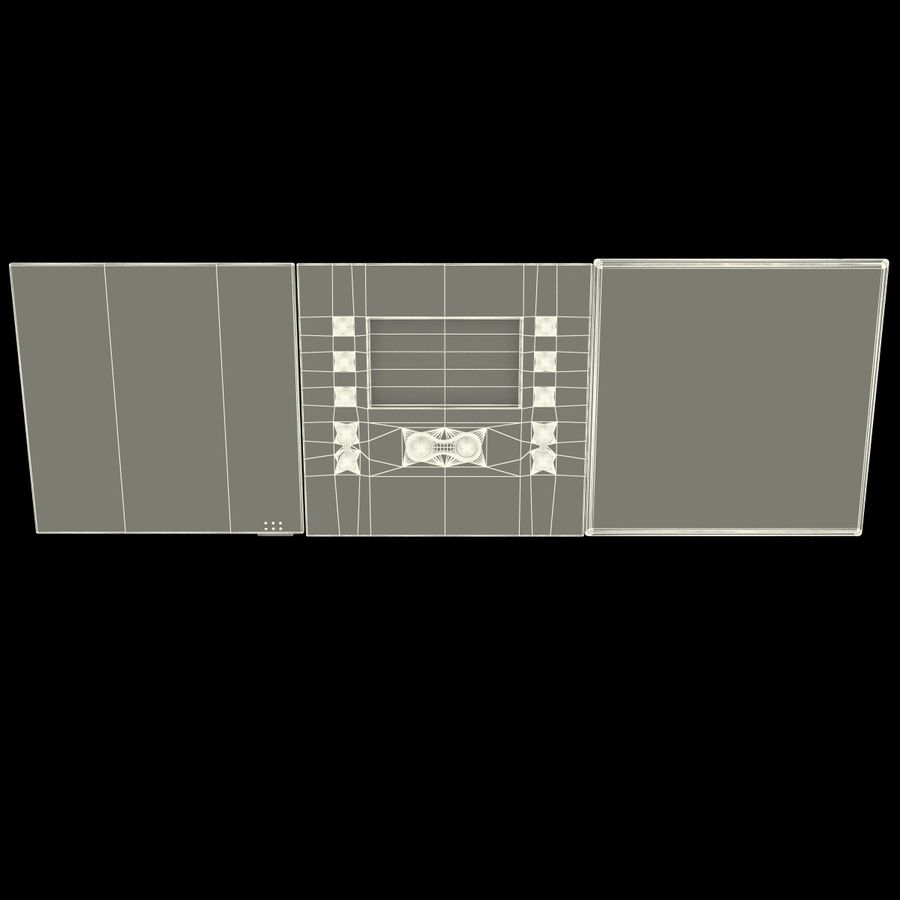 Indoor Intercom royalty-free 3d model - Preview no. 15
