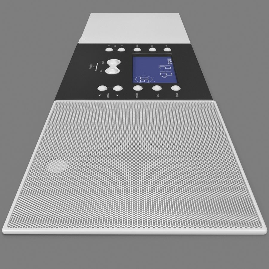 Indoor Intercom royalty-free 3d model - Preview no. 8