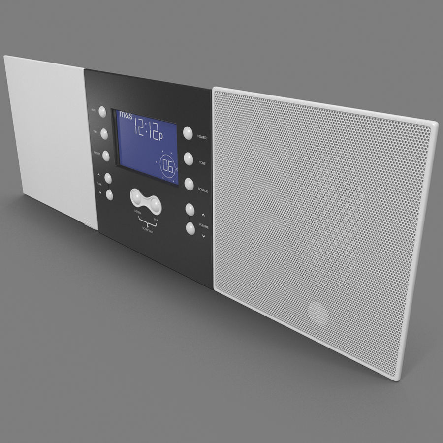 Indoor Intercom royalty-free 3d model - Preview no. 2