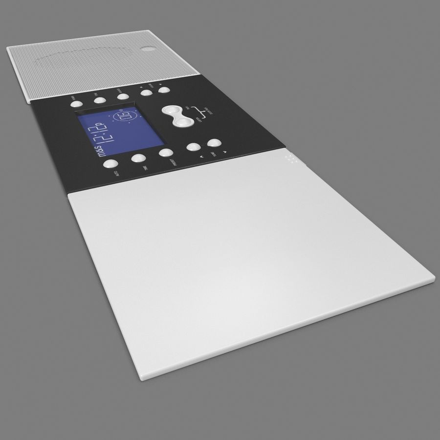 Indoor Intercom royalty-free 3d model - Preview no. 10