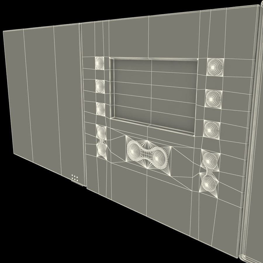 Indoor Intercom royalty-free 3d model - Preview no. 16
