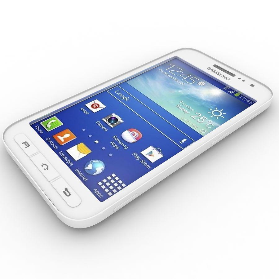 三星Galaxy Core Advance royalty-free 3d model - Preview no. 6