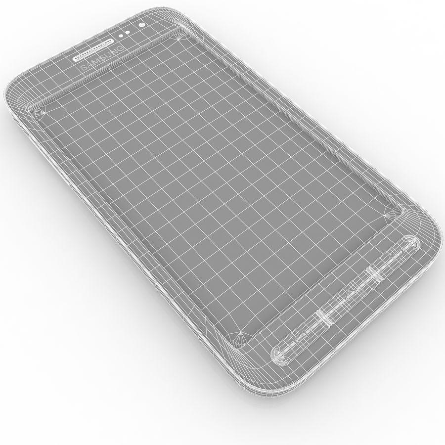 三星Galaxy Core Advance royalty-free 3d model - Preview no. 16