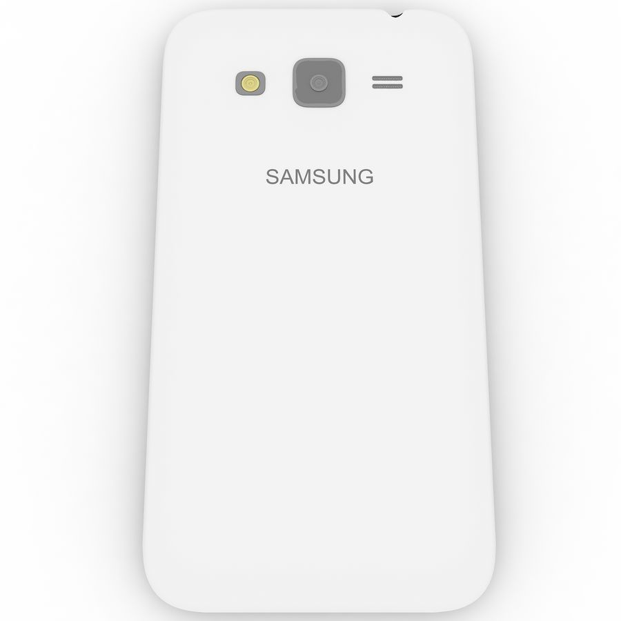 三星Galaxy Core Advance royalty-free 3d model - Preview no. 7