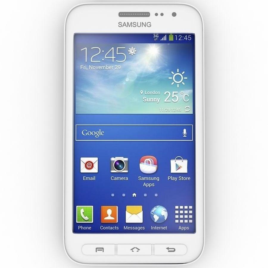 三星Galaxy Core Advance royalty-free 3d model - Preview no. 1