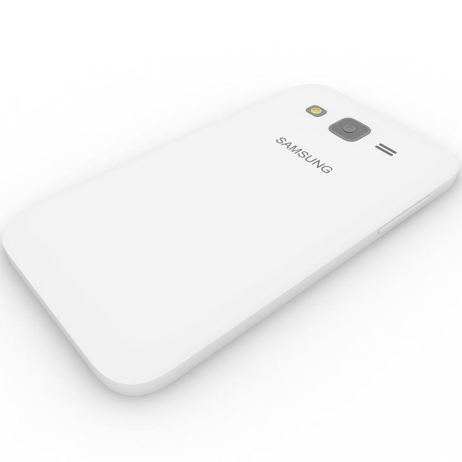 三星Galaxy Core Advance royalty-free 3d model - Preview no. 11