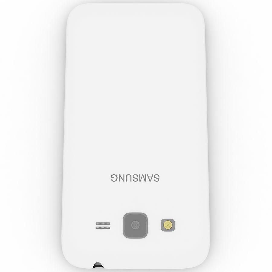 三星Galaxy Core Advance royalty-free 3d model - Preview no. 9