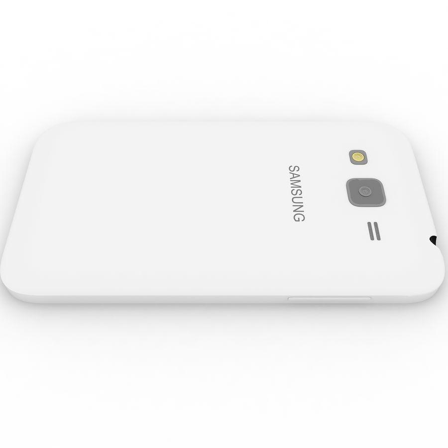 三星Galaxy Core Advance royalty-free 3d model - Preview no. 10
