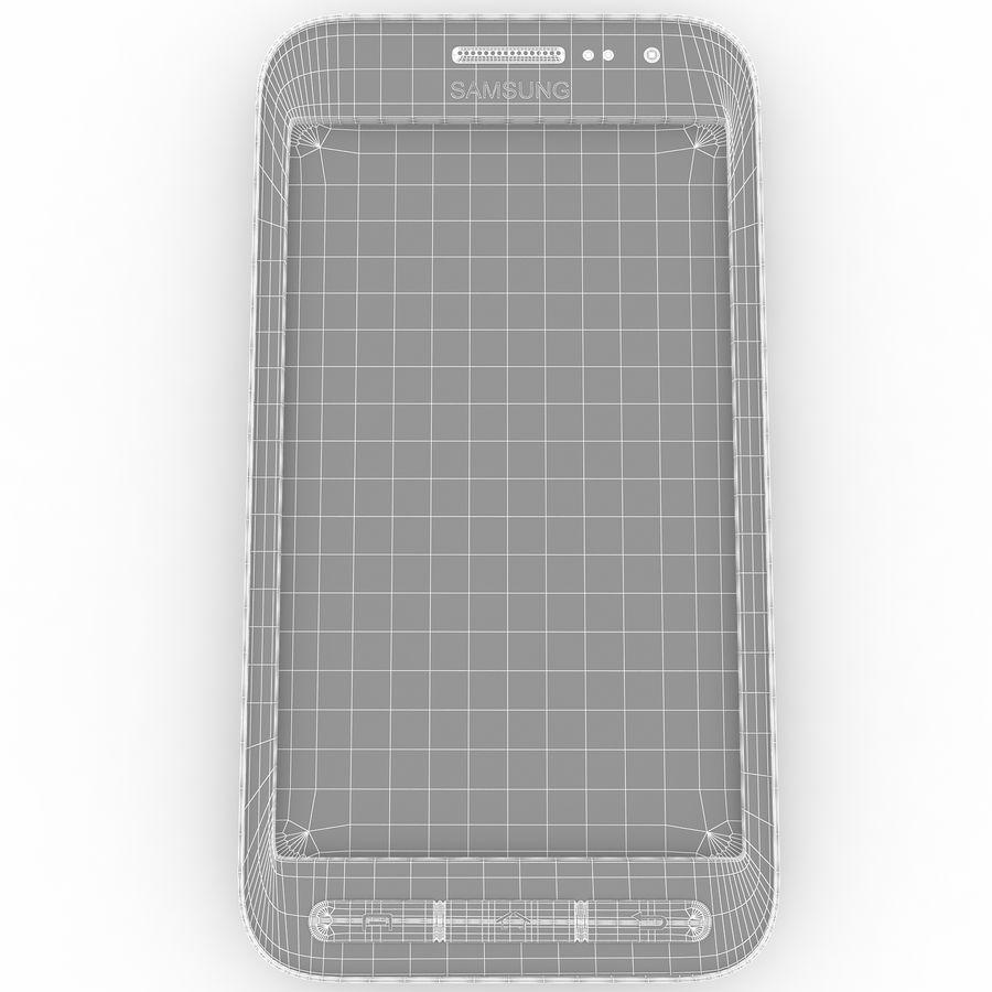 三星Galaxy Core Advance royalty-free 3d model - Preview no. 17