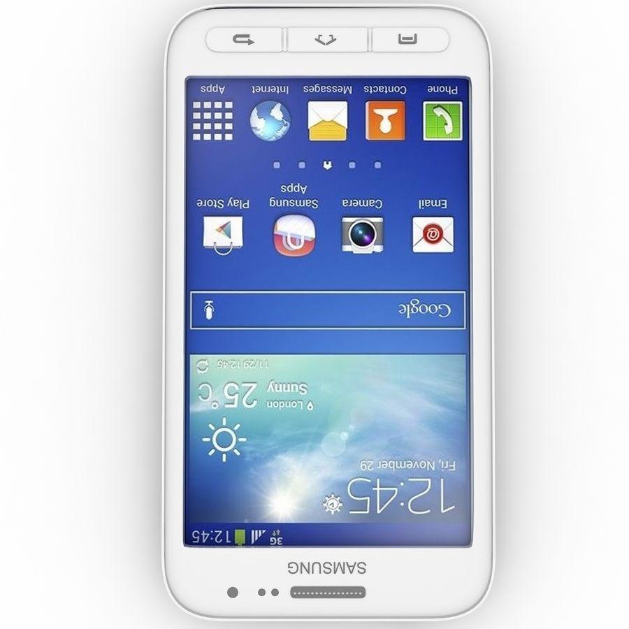 三星Galaxy Core Advance royalty-free 3d model - Preview no. 3