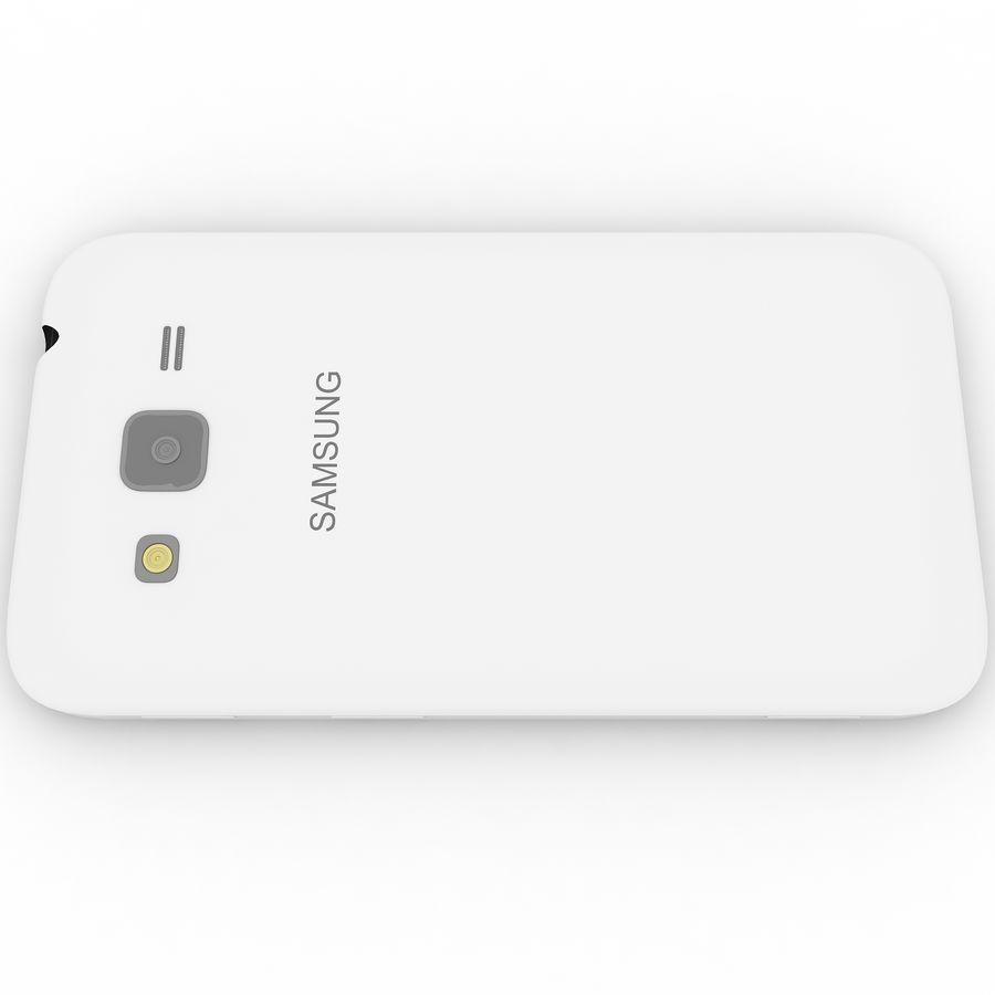 三星Galaxy Core Advance royalty-free 3d model - Preview no. 8