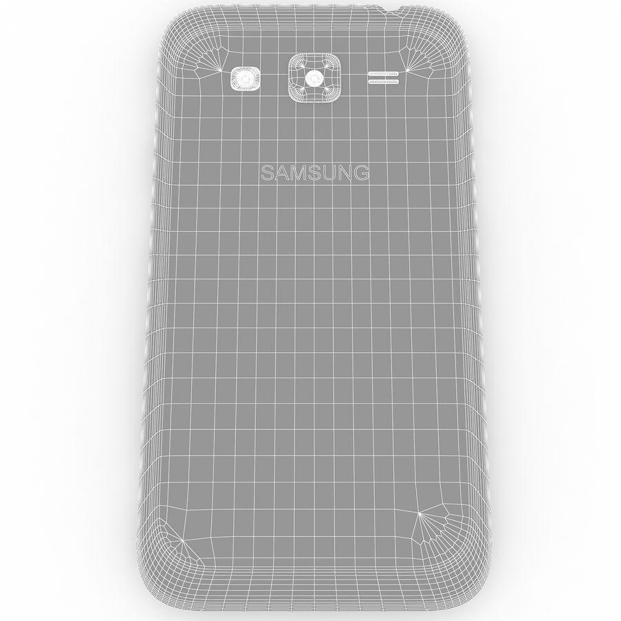 三星Galaxy Core Advance royalty-free 3d model - Preview no. 12