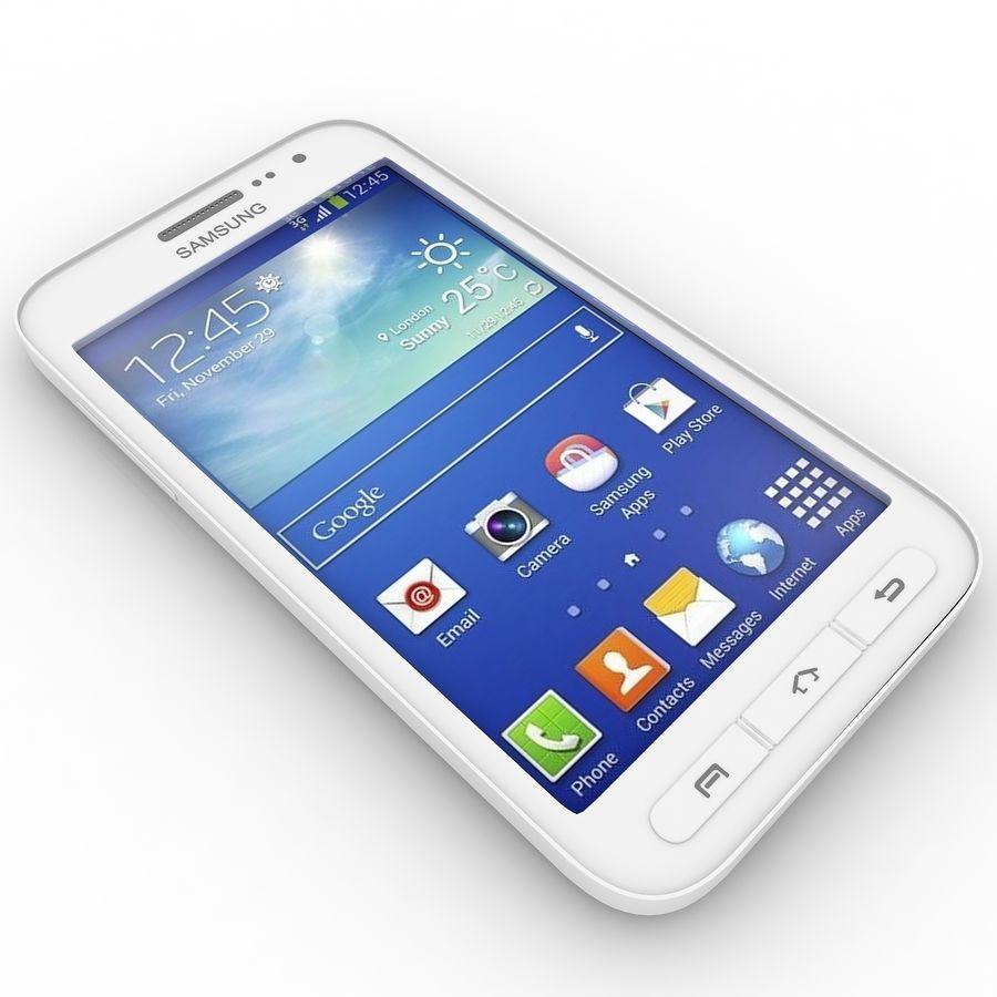 三星Galaxy Core Advance royalty-free 3d model - Preview no. 5