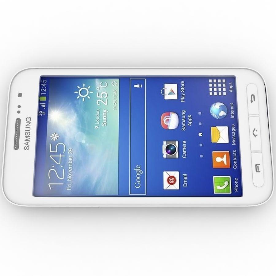 三星Galaxy Core Advance royalty-free 3d model - Preview no. 4