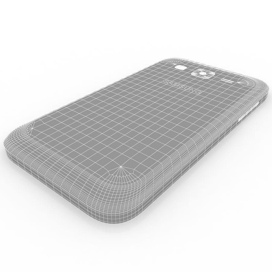 三星Galaxy Core Advance royalty-free 3d model - Preview no. 14