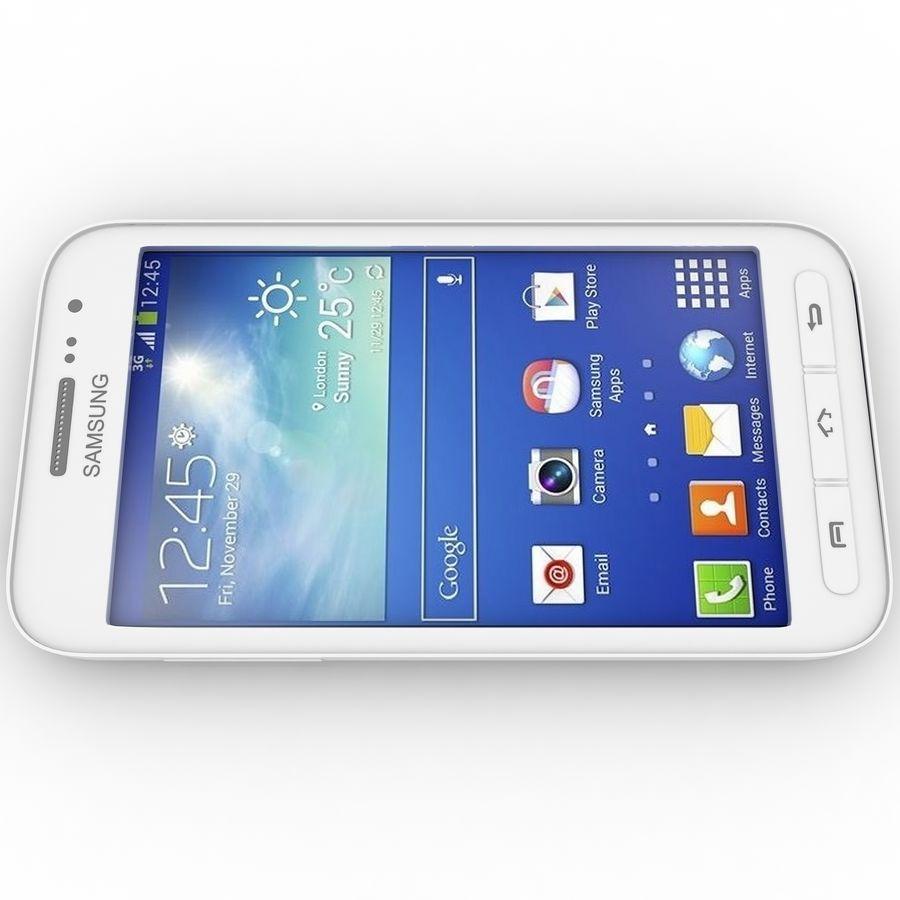 三星Galaxy Core Advance royalty-free 3d model - Preview no. 2