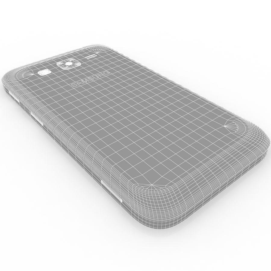 三星Galaxy Core Advance royalty-free 3d model - Preview no. 13