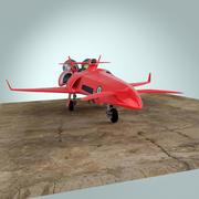 ロケットレーサー 3d model