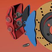 Bremsen 3d model