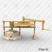 Hand mill 3d model