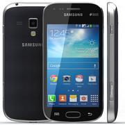 Samsung Galaxy S Duos 2 Black 3d model