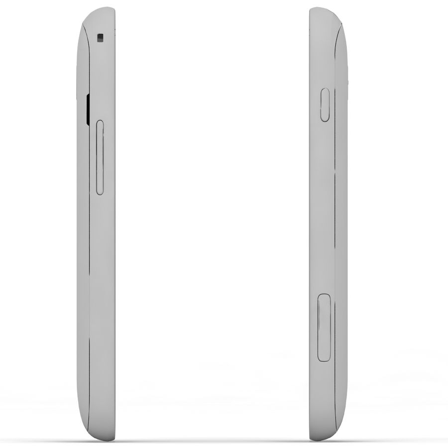 Samsung Galaxy S Duos 2 White royalty-free 3d model - Preview no. 7