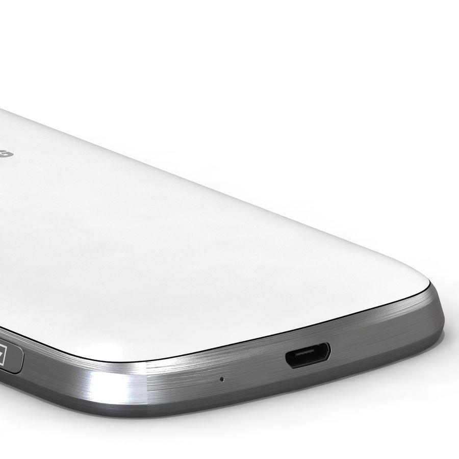 Samsung Galaxy S Duos 2 White royalty-free 3d model - Preview no. 9