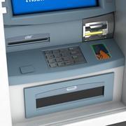 Geldautomaat 3d model
